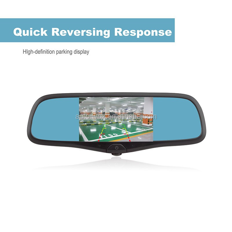 Rearview mirror gps navigation system rearview mirror car gps with dvr