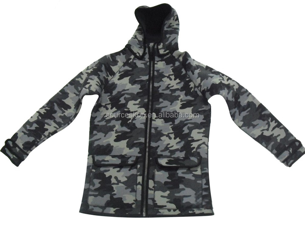 winter camouflage hunting jacket