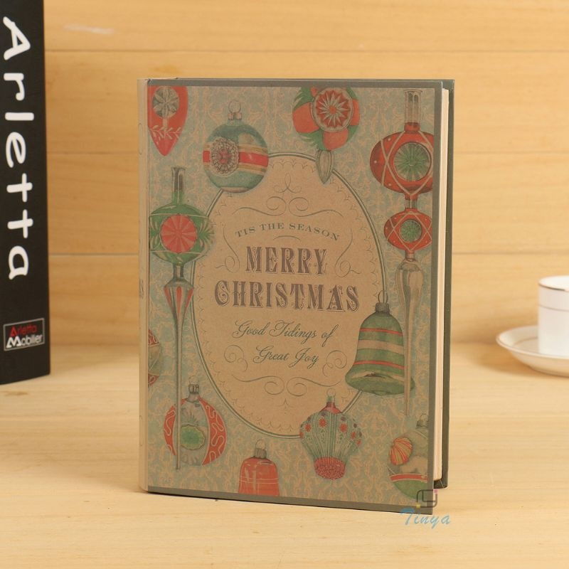 christmas gift hollow book safe box