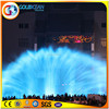 Illuminated Water Fountain Laser Water Show Outdoor Laser Projector
