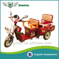 2015 new elegant design green energy cost-effective electric cargo trike