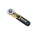 SK5 45mm wide blade fabric rotary cutter with plastic safety handle