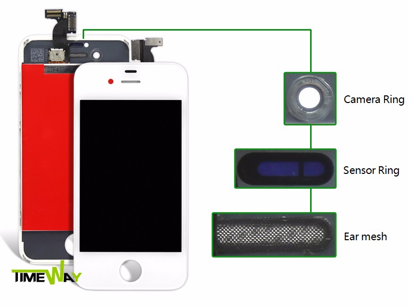 Factory price free government touch screen phones lcd for iphone 4s, for iphone 4s lcd screen