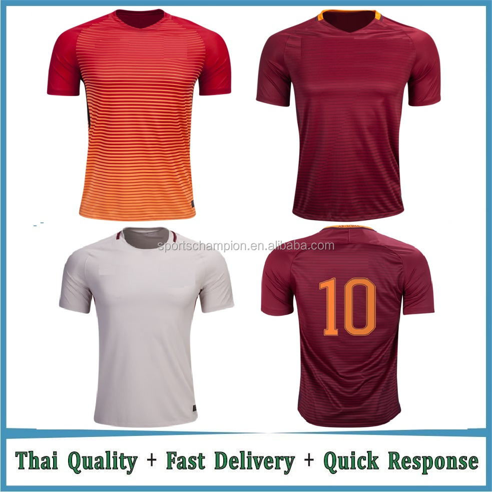 thai quality soccer jersey manufacturer football jersey new model