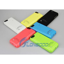 Popular and Hot Sale External 2200mAh Power Bank Battery Charger Case for iphone 5G 5S 5C