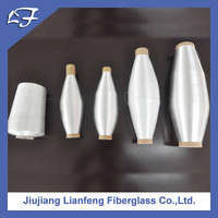 White Colour High Quality Non-alkali Fiber Glass Yarn