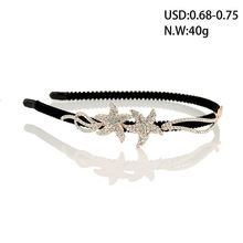 Top sale hair accessories customized headband elegant bride wedding hairbands