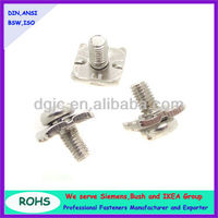 combination sems screws with washer attached