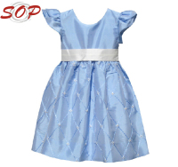 2016 Kids Clothes New Modern Girl Birthday Party Dress