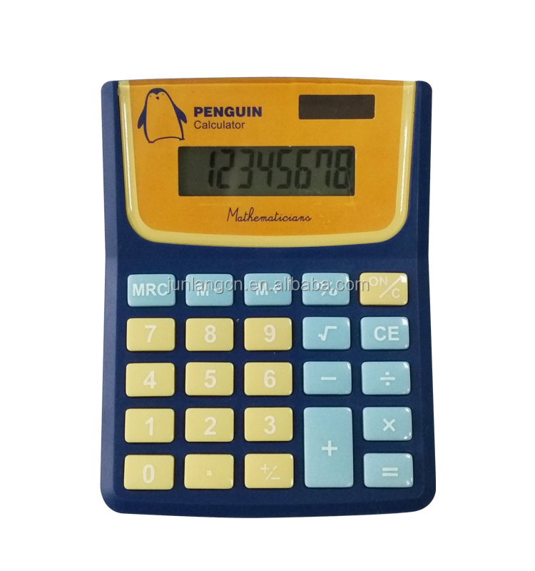 Wholesale Electronic Promotional Gift Calculator 8 Digits Desktop Calculator Dual Power