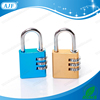 AJF 2015 New Arrival Top security 3 Dials large square shape aluminium padlock, digital padlock