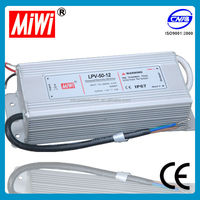 LPV-50-12 Waterproof 12v led switching power supply driver