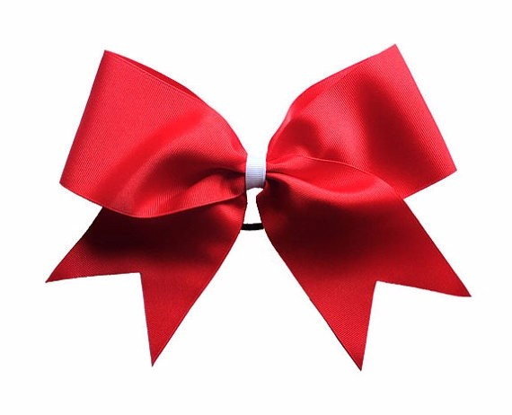 Woven Technics and Solid Color Pattern Small Satin Ribbon Bows