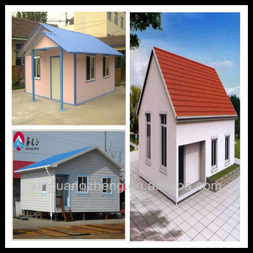 cheap prefabricated steel frame kit home