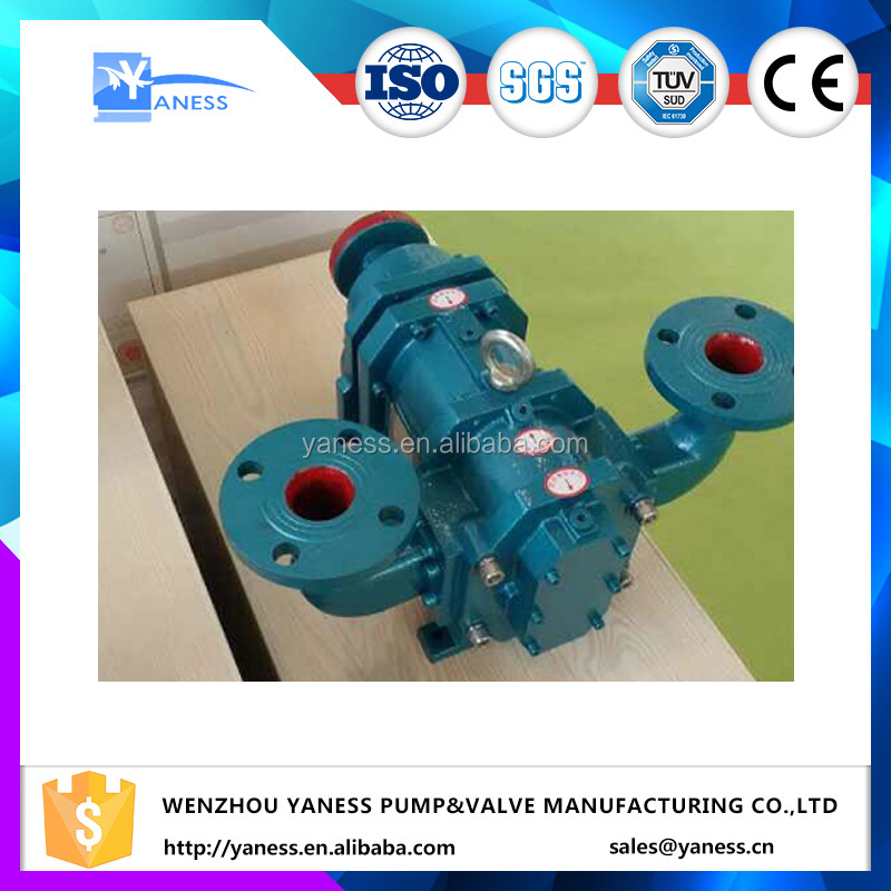 High pressure rotary lobe pump for crude oil/heavy oil/fuel/polymer