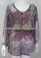 Pretty Steps 2013 lady Bell Sleeve Blouse