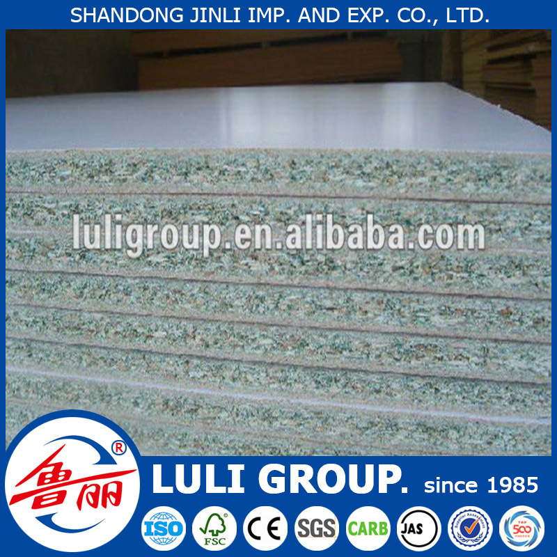 green color waterproof particle board