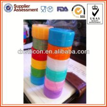 customized small air sealed jars for sticky wax product container storage