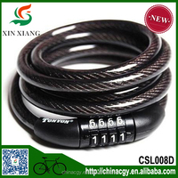 Anti-theft combination chain bicycle frame lock with password for motorcycle Steel Chain Cable bike code lock