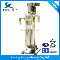 Chicken oil extracting tubular centrifuge separator processing machine