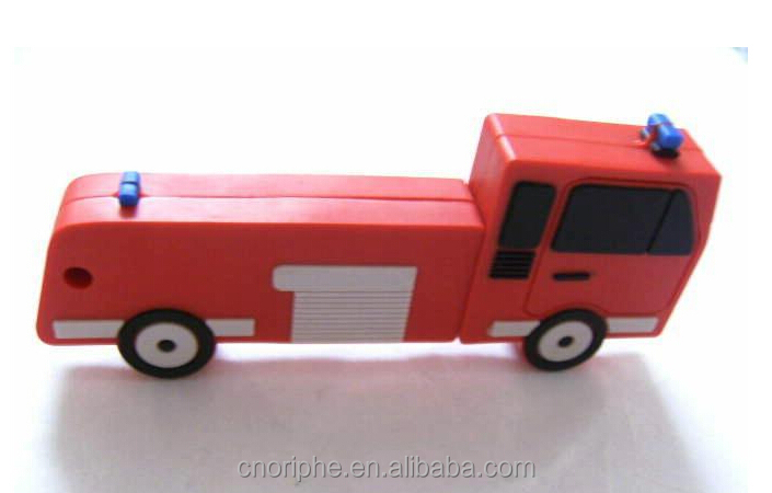 Best Selling promotional Good quality fire truck usb stick