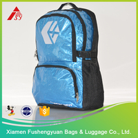 High performance Glitter PVC waterproof bike backpack
