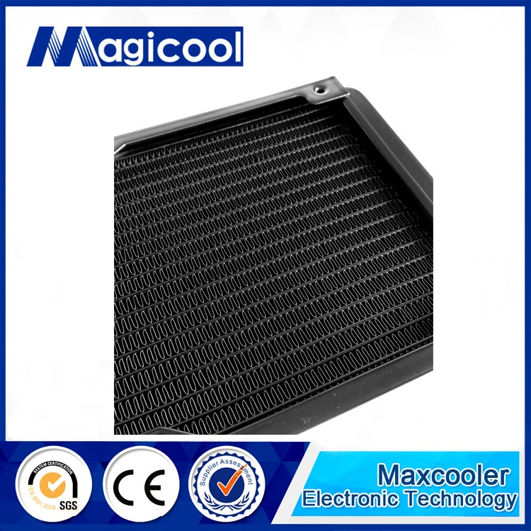 Best Quality aluminum Radiator for computer 33mm thickness 120or240or360mm length