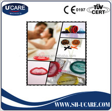 Cost price top sell multi invisible color condom