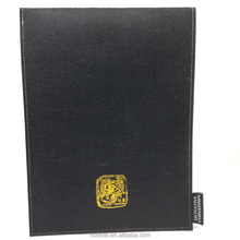 2016 hot selling durable eco friendly polyester felt A4 paper document folder
