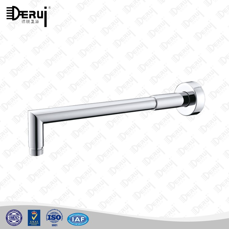 brass wall mounted right angle shower arm for shower
