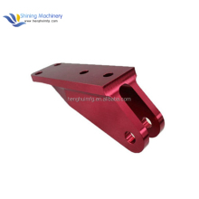 Shining Machinery OEM Color Anodization 7075 aviation parts clamp cnc aluminum machining parts