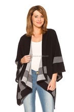 hot sale winter thick cashmere ponchos for lady