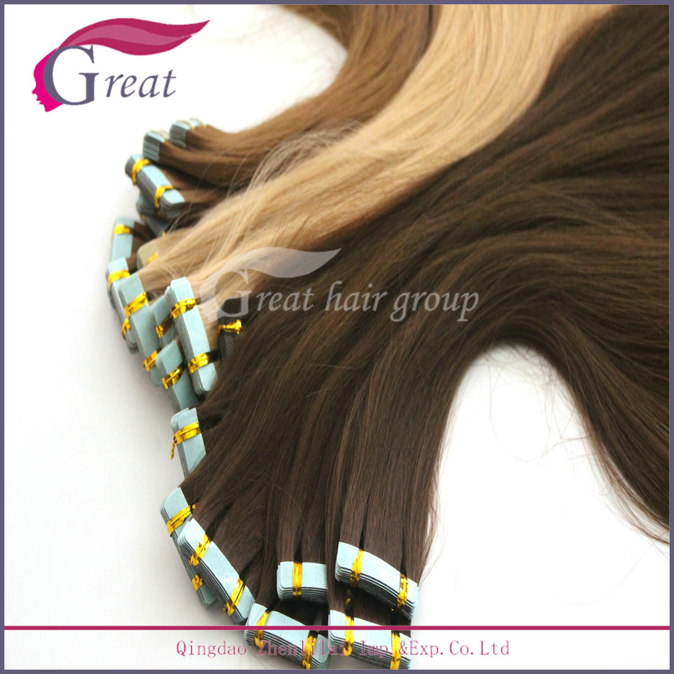 Popular New Fashion Mini Flower Tape Hair Extensions