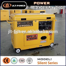 air cooled heavy duty silent diesel generator with spare