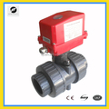 2-way Actuator DN40 pvc motorized valve motor PVC valves electric water valve flow control for ,auto-control water system