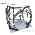 Detian offer truss aluminium display booth for trade show