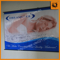 Custom Polyester Wall Scrolls with White Strings