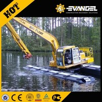 Low price undercarriage of hydraulic amphibious excavator