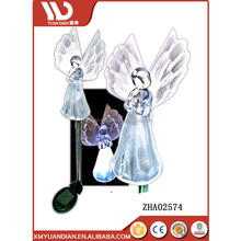 Personalized Ornaments Wholesale Solar Angel Lights Garden Stakes With Wings