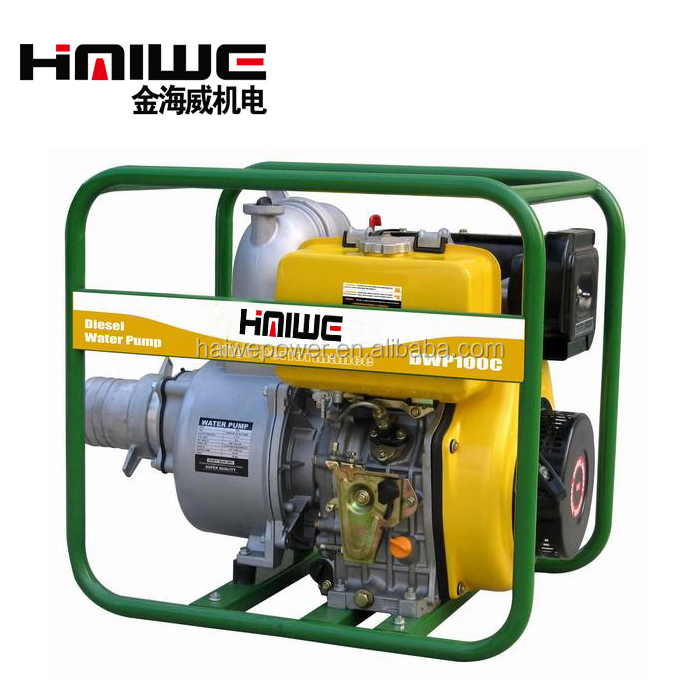 HAIWE CHINA 2'' 2 Inch 1 Year Warranty Small MOQ Fast Delivery High Pump Lift, Household Diesel Engine water Pump
