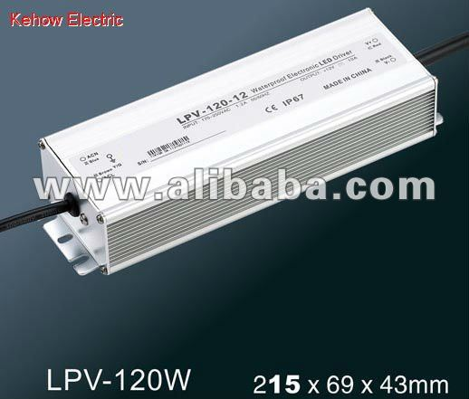 LPV-120W LED constant voltage waterproof switching power supply