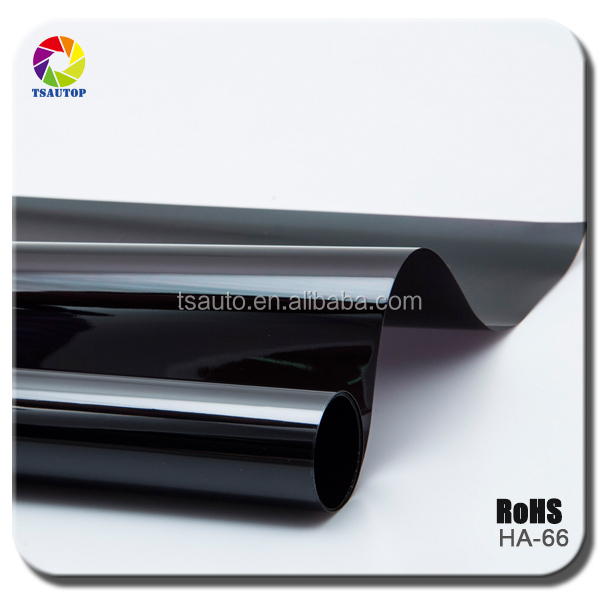 TSAUTOP high qualtity printed and embossed static window tinting film solar window film HA66