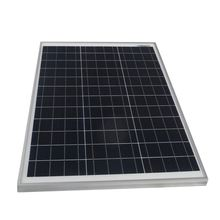 PET cells poly panel polycrystalline solar module 50w