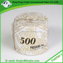 High Grade Tissue Paper virgin pulp Soft Toilet Paper Manufacturer