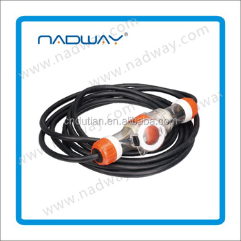 Gold supplier NADWAY product Australia industrial waterproof Extension plug and socket