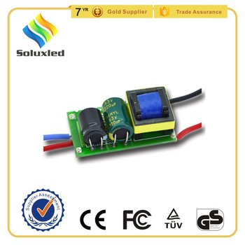 12-18*1W 12/24V LED Driver With CE Certification and 3 Years Warranty