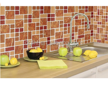 Peel &stick Impress Adhesive Vi nyl Wall Tiles, Soft Casual