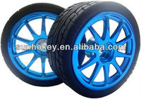 High Quality 65mm Small Smart Car Model Robot Tire Wheel Car Chassis