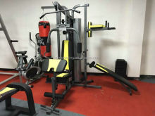 Cheap 4 Station Multi gym equipment with boxing punching bag Integrated gym trainer AMA7000E-1
