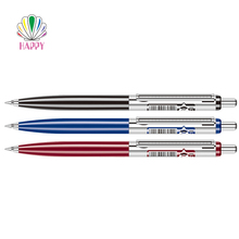 Best sale cheap promotional custom crystal plastic metal ball pen